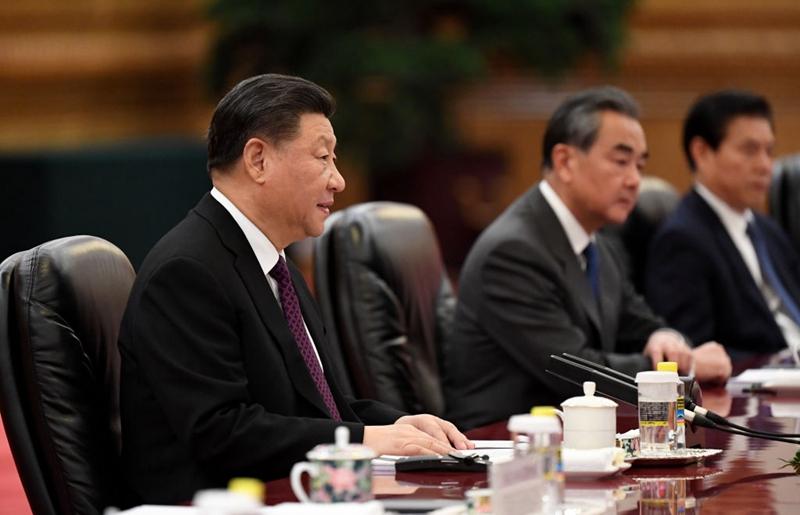 有評論說,王毅訪歐製造的外交災難,重挫習近平。一向對北京溫和的歐盟國家個個變臉,處處變天。(Noel Celis - Pool/Getty Images)