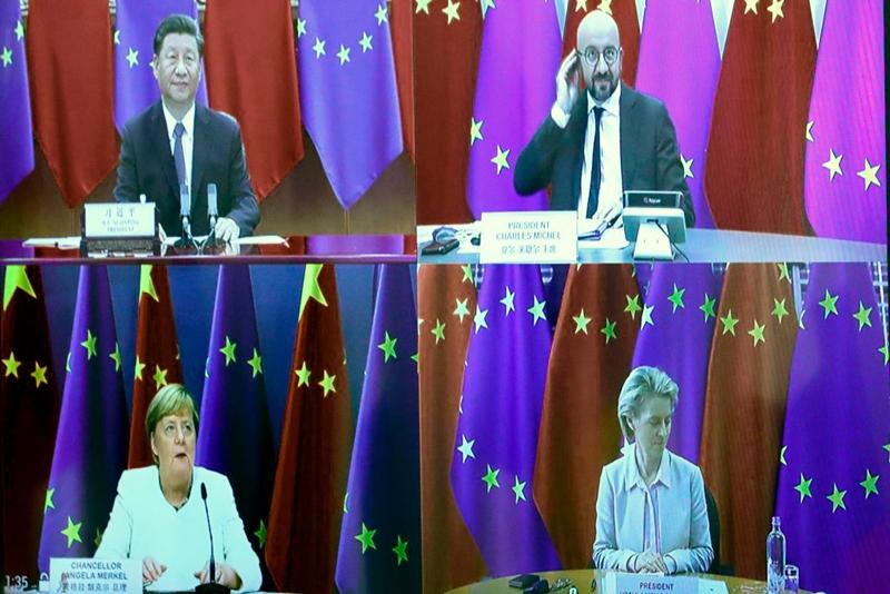 中歐峰會細節曝光 習遭步步緊逼 被迫回應三字