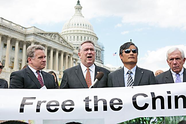 2014年9月17日,美國多名國會議員呼籲總統奧巴馬在北京舉行的亞太經濟合作組織(APEC)峰會上提出釋放王治文等18位良心犯。(大紀元資料圖片)