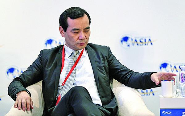 安邦原老闆吳小暉,是鄧小平外孫女的老公,已離婚,他被判了18年,沒收了上千億個人資產。(大紀元資料室)