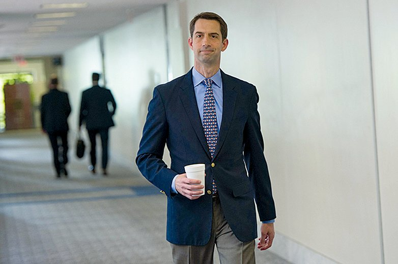 美國阿肯色州共和黨參議員科頓(Tom Cotton)。(AFP)