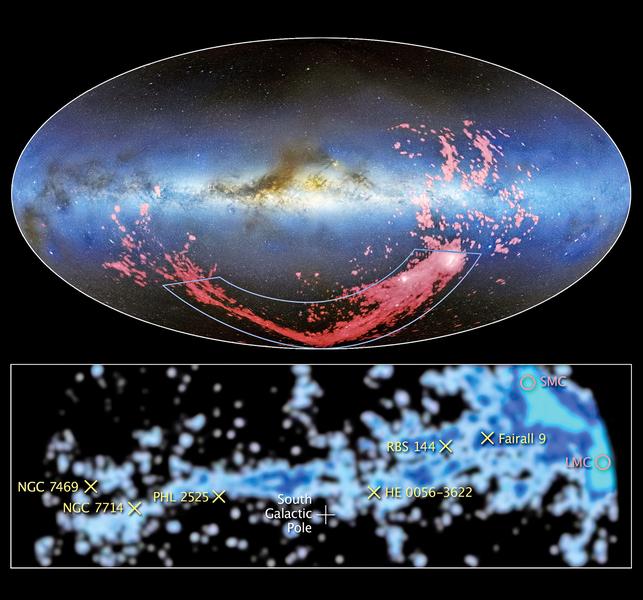 麥哲倫星流形成之謎  科學家破解