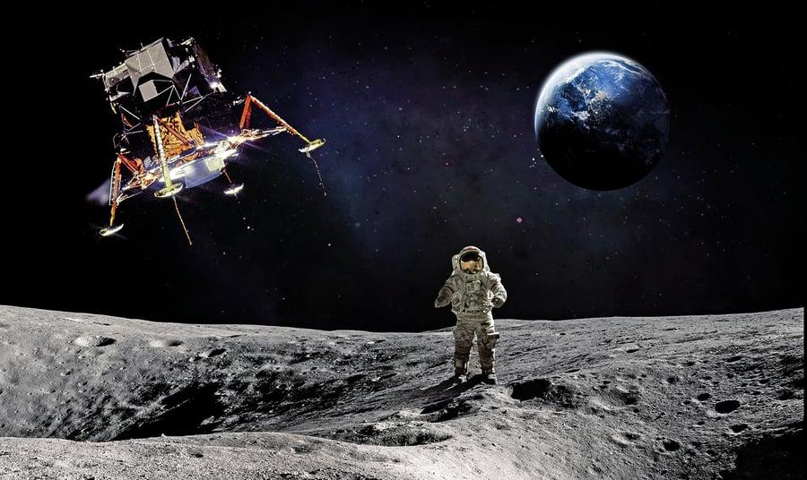NASA新專利:最省力登月路線