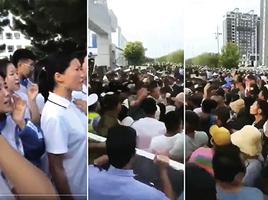 內蒙文件曝罷課抗議的學生眾多