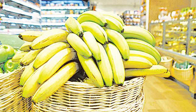買半熟的香蕉才有足夠的保存時間。