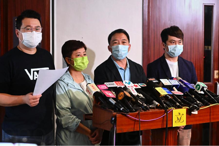 民主黨:第三輪抗疫基金市民難受惠 救市不救人將致社會動盪