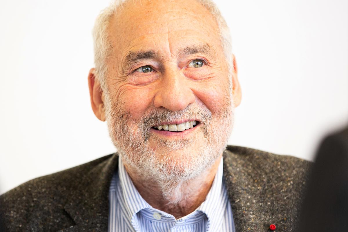 諾貝爾獎得主Joseph Stiglitz。(Jérémy Barande / Ecole polytechnique Université Paris-Saclay / CC BY-SA 2.0)