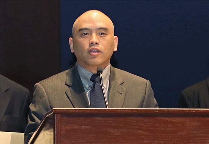 █ CPDC成員之一,前美國陸軍研究院病毒疾病系實驗室主任、微生物學博 士林曉旭( 大紀元資料圖片)