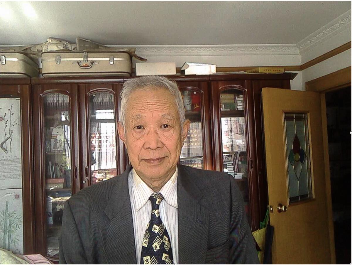 中國人民大學前政治系主任冷傑甫今年4月寫了公開信呼籲習近平辭去中共黨政軍一切職務,以應對國內外危機。(受訪者提供)