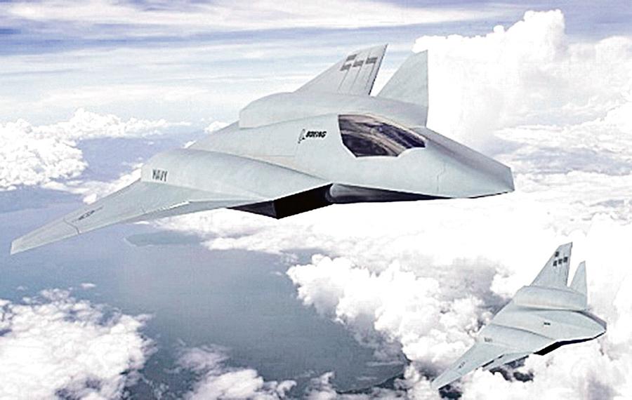 美秘密軍機第六代原型出籠 美軍官指中共無力對抗