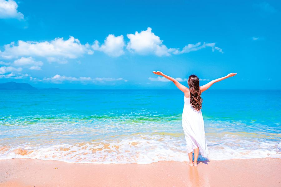 經常到海灘能促進健康 海洋、海浪、海平面 對人體的好處超乎想像