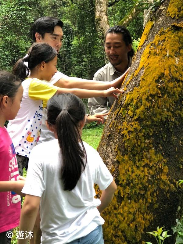 在「遊沐」的活動中,William鼓勵家長和小朋友共同參與互動。(受訪者提供)