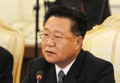 北韓二號人物崔龍海資料圖片。(網絡圖片)