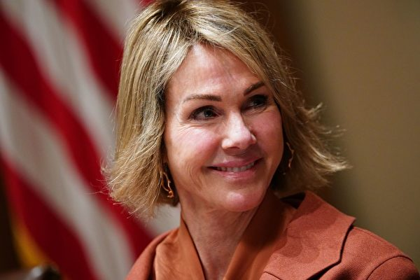 美國駐聯合國大使大使凱利克拉夫特(Kelly Craft)。(MANDEL NGANAFP via Getty Images)