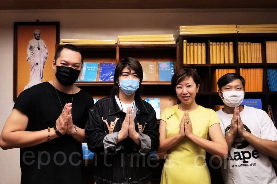 香港天梯書店開幕 歌星阮民安等送祝福