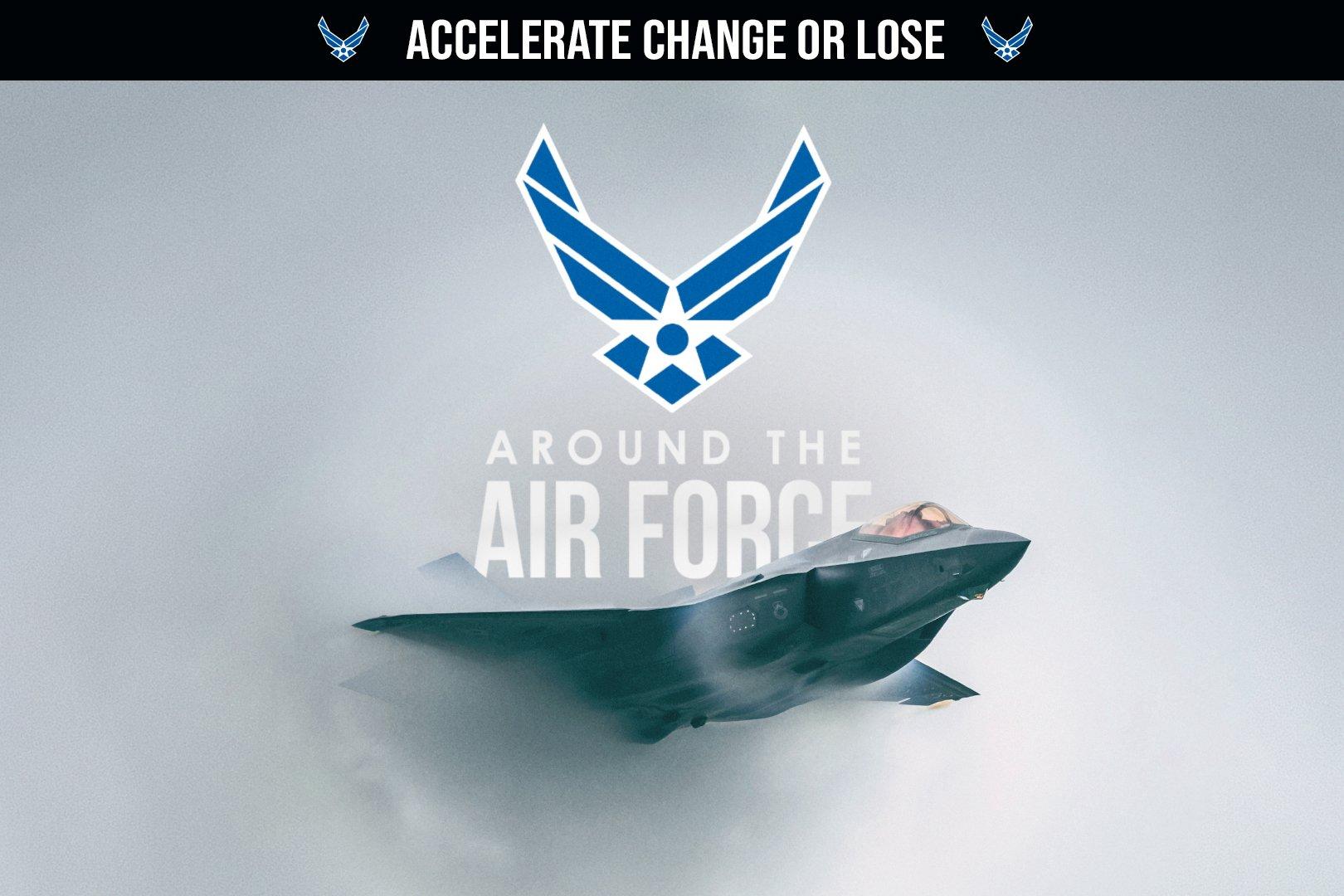 美國空軍海報。(USAF)