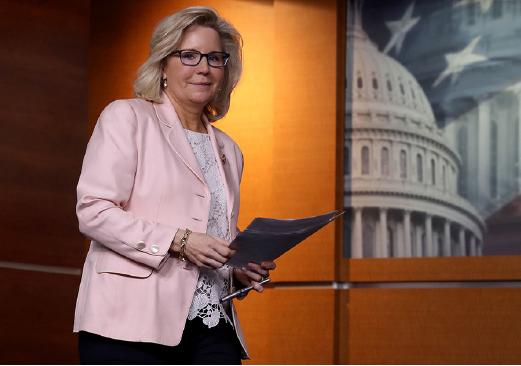 圖為美國眾議員切尼(Liz Cheney)資料照。(Getty Images)