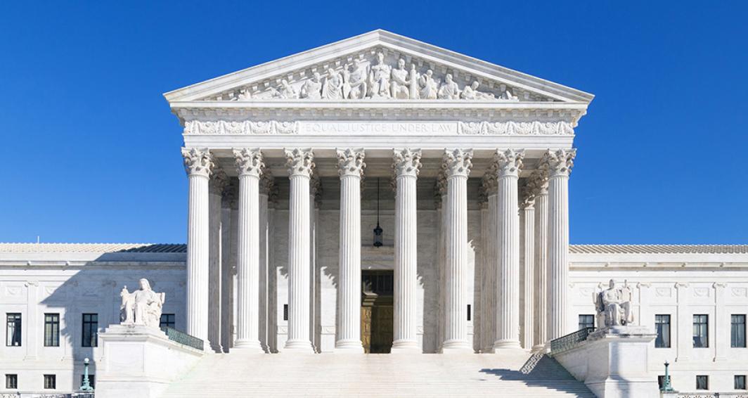 圖為美國的最高法院。(fotolia)