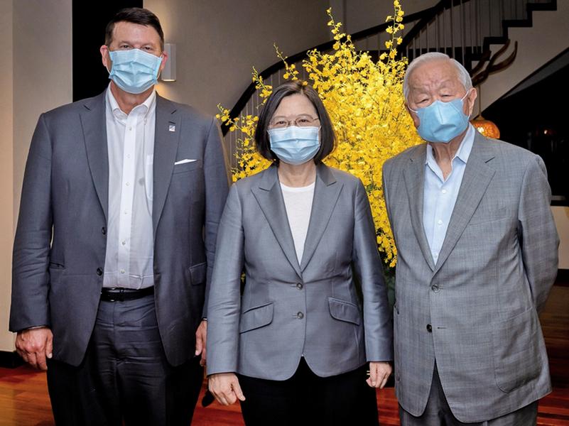 美國國務次卿率團來訪 蔡英文:台美關係重大進展