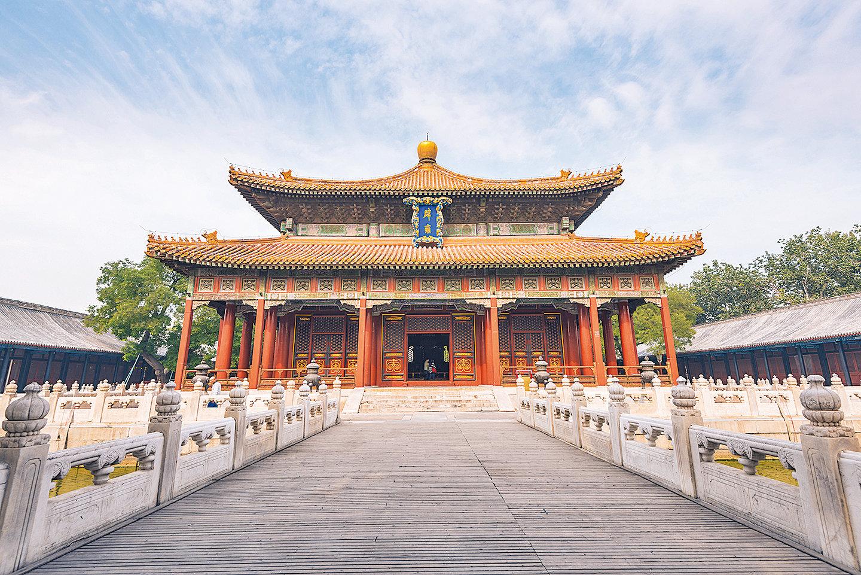 北京孔廟的科舉考試大廳(shutterstock)