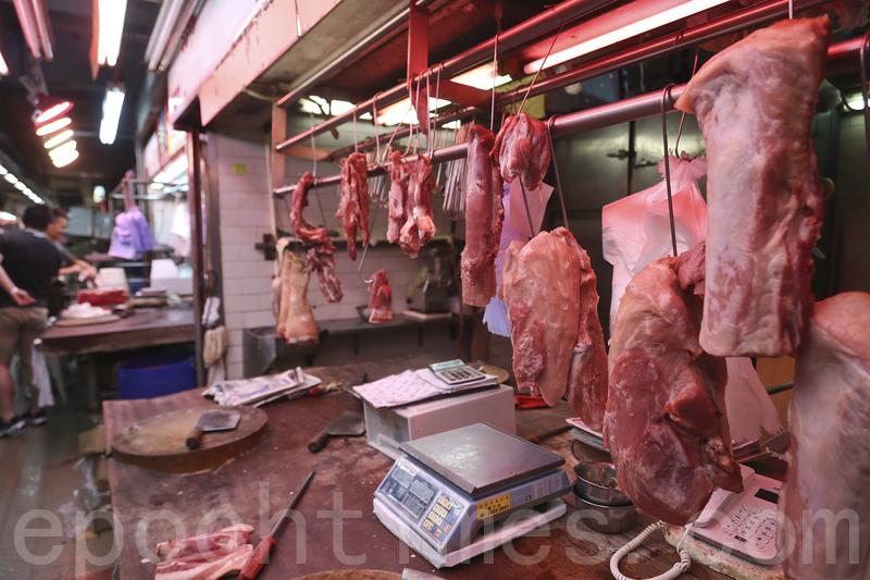 食物及衞生局局長高永文今日表示,哮喘豬事件的把關責任主要在政府,當局正考慮作出賠償。(余鋼/大紀元)