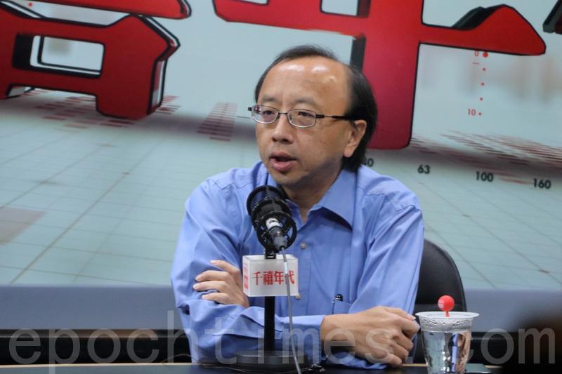 圖為張達明接受港台節目《千禧年代》訪問時指,施覺民的辭任有多個不尋常之處。(大紀元資料圖片)