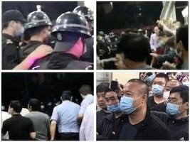 北京高碑店鄉文化園業主商戶面臨逼遷遭騷擾爆衝突