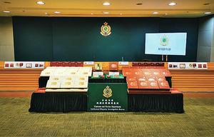海關檢約340盒冒牌月餅拘捕四人