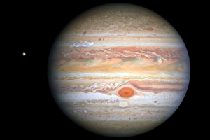 NASA:木星表面出現醒目新風暴
