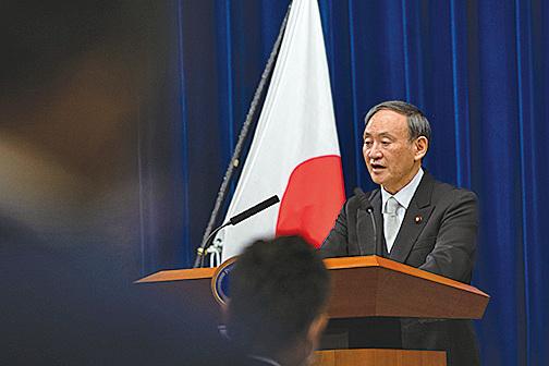 美日澳印組成的四方安全對話(QUAD)將在東京舉行,日本新任首相菅義偉,也將首度會見外國官員。。(AFP)