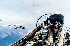 台灣軍方:戰機如遇襲定反擊