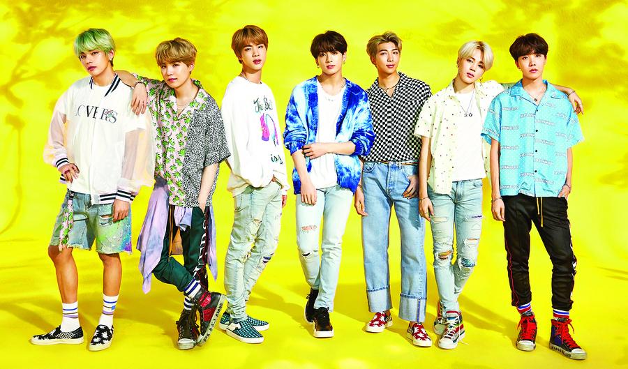 BTS任青年代表赴青瓦台演說 勉勵韓國青年