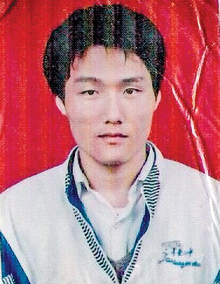 遼寧丹東市法輪功學員孫宇,2002年12月31日在大連被警察從學校帶走後失踪。(明慧網)