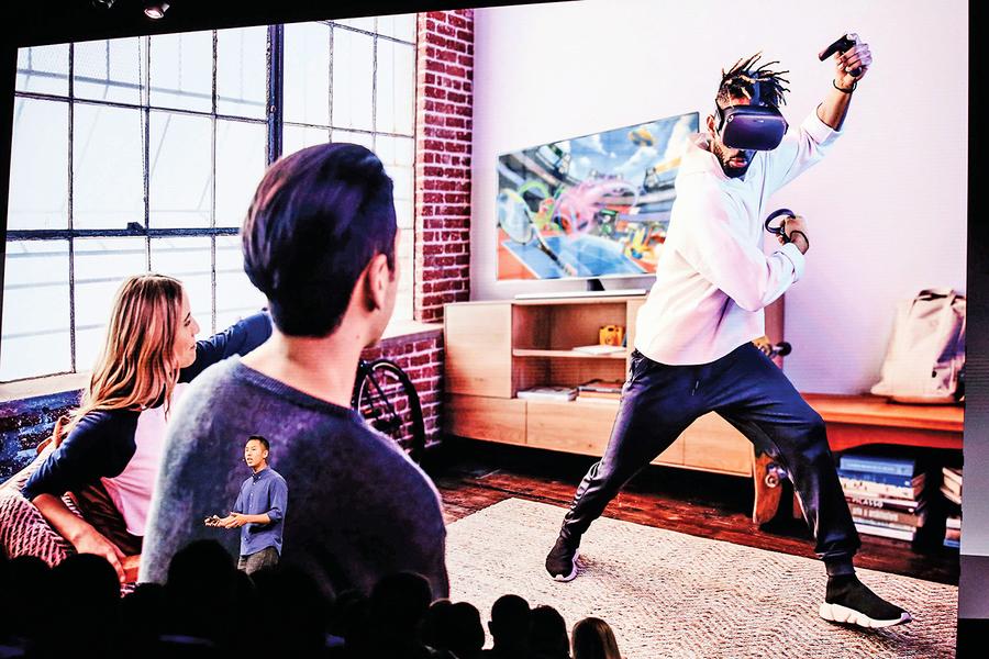Facebook大會發表新版VR一體機