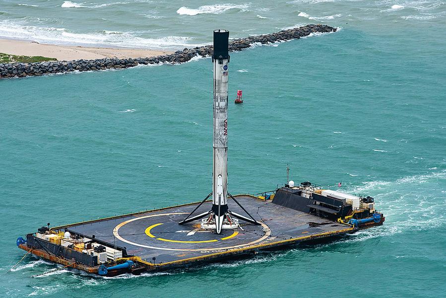 SpaceX 用自家船來測試星鏈互聯網