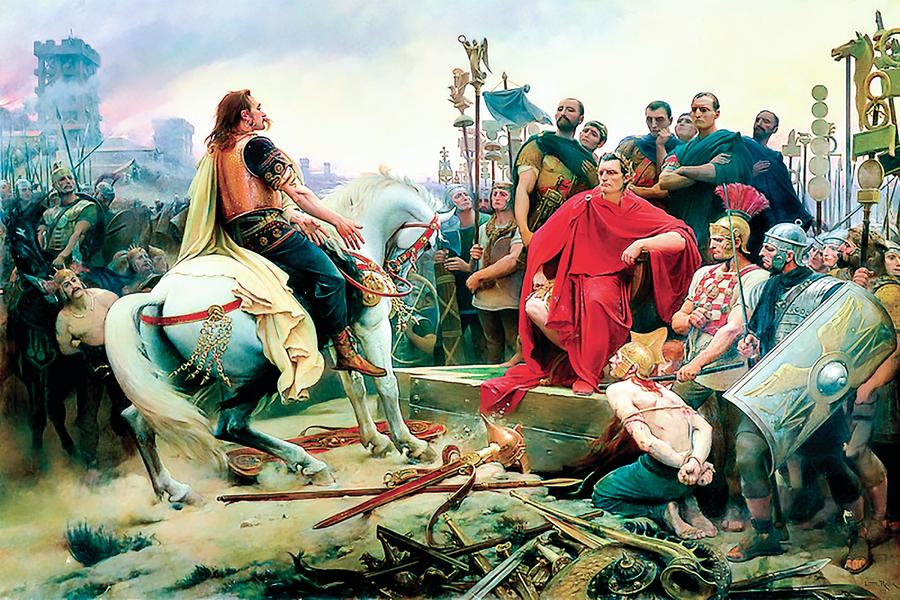 西方文明重要奠基者凱撒大帝 戰功與仁政(中)