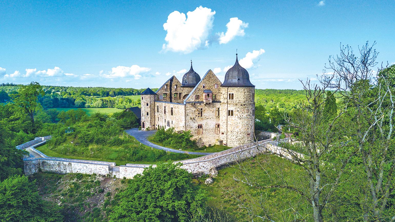 薩巴城堡是《睡美人》故事的城堡原型。