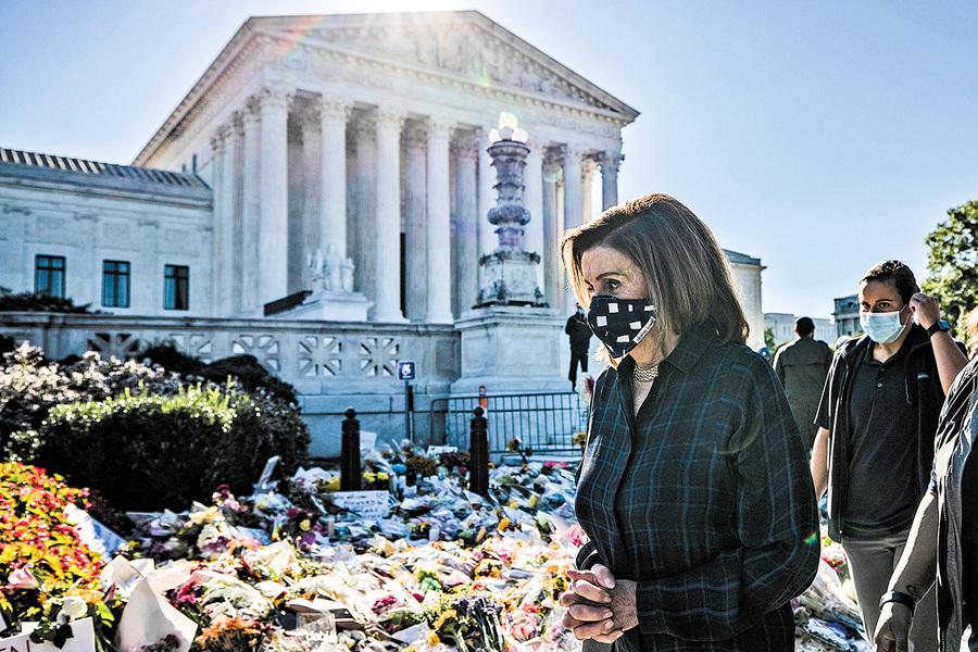 大法官補缺掀政治風暴 佩洛西不排除再彈劾特朗普