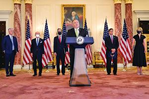 最大施壓伊朗 美三大部門採取重大制裁行動