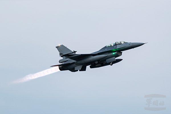 圖為F-16V戰機。(軍聞社提供)