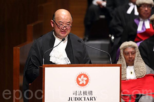 香港終審法院首席法官馬道立。(大紀元資料圖片)