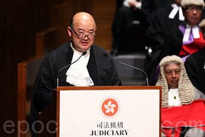 馬道立發聲明稱法官法院必須不受政治影響