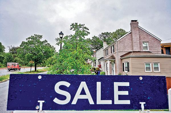 5月6日,維珍尼亞州阿靈頓的一處待售房產。(Getty Images)