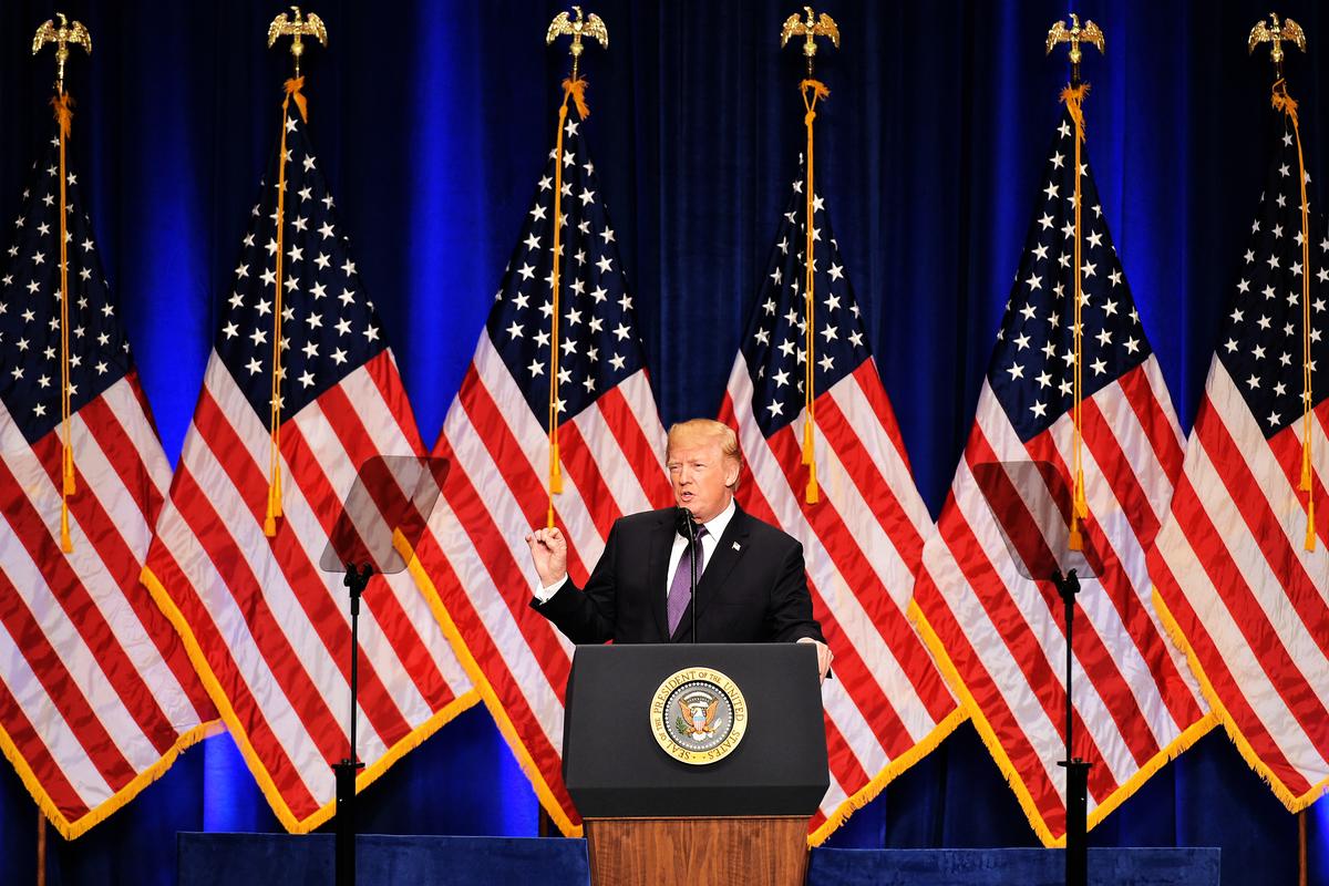 美國總統特朗普(MANDEL NGAN/AFP)