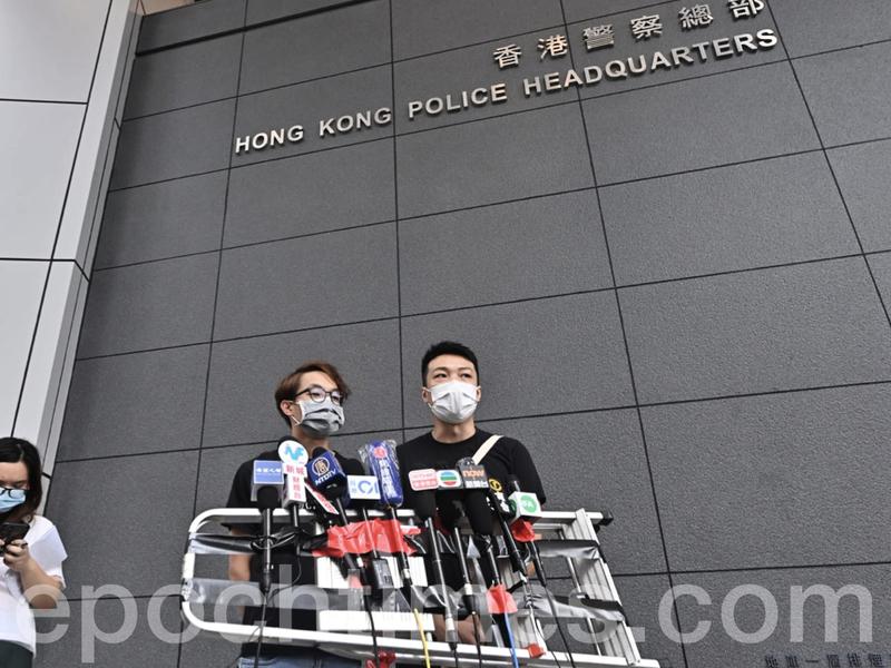 【直播】擬發起十一大遊行 民陣:警方在發出不反對通知書前設限聚令難題