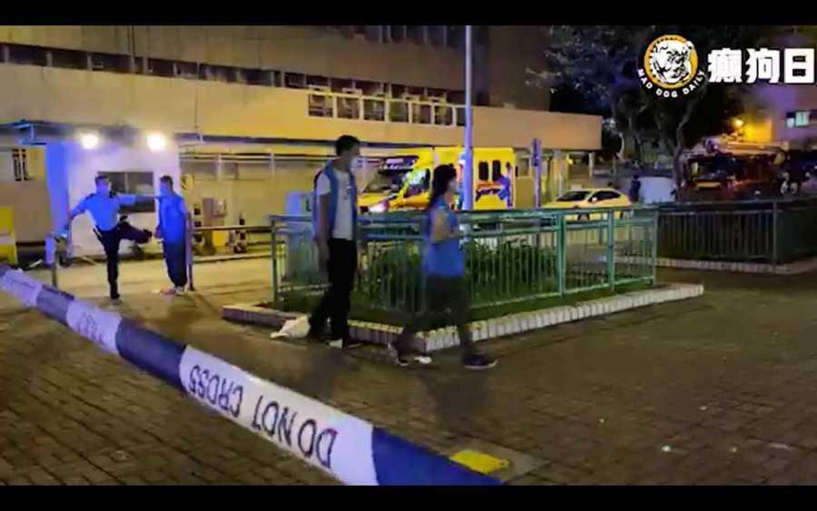 政府新聞處登記媒體又如何? 癲狗日報採訪火警一度遭警拒絕