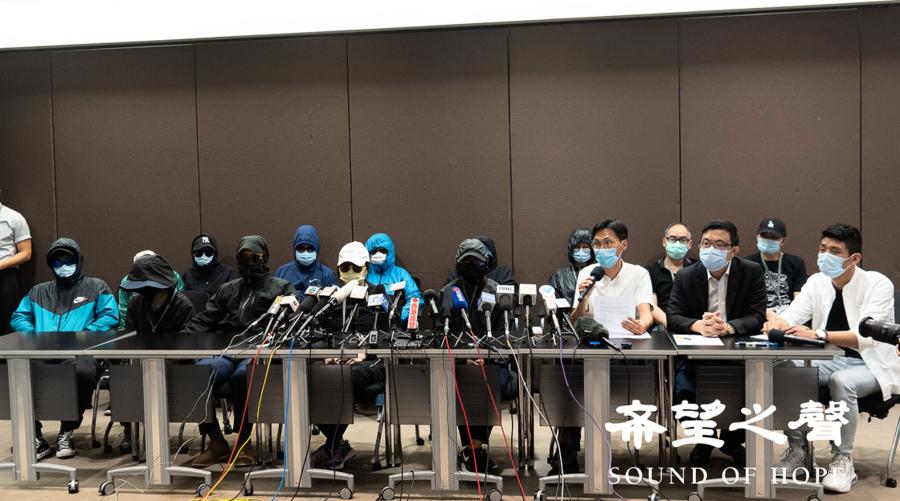律師見不到被捕港人 深圳當局謊稱已另聘律師