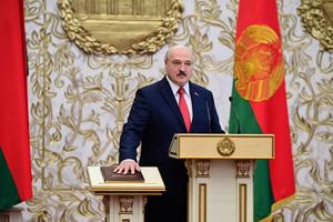 白俄羅斯總統偷偷宣誓就職