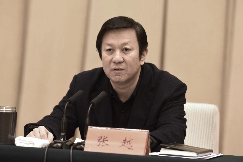前河北省委常委、政法委書記張越近日已被立案偵查。(網絡圖片)