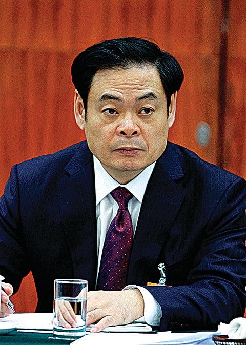 王儒林前山西省委書記